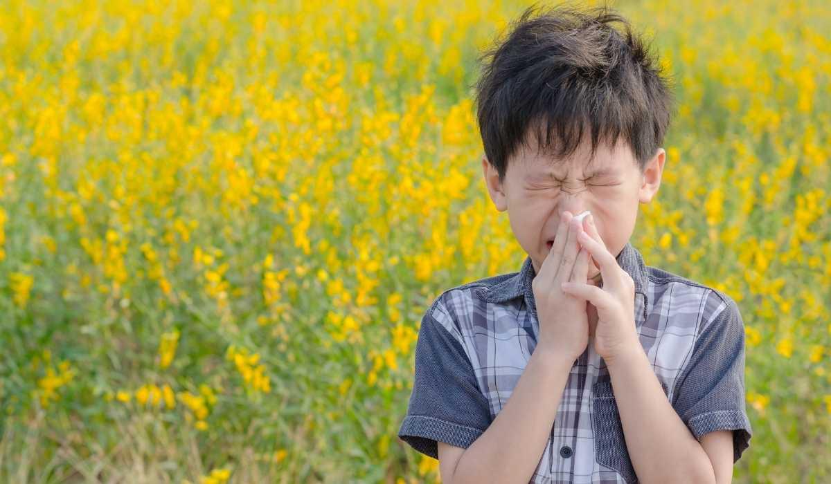 Rinite allergica bambini